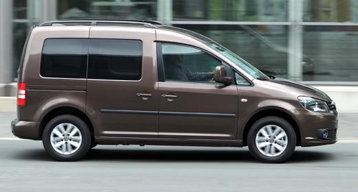 Volkswagen Caddy furgon bérlés