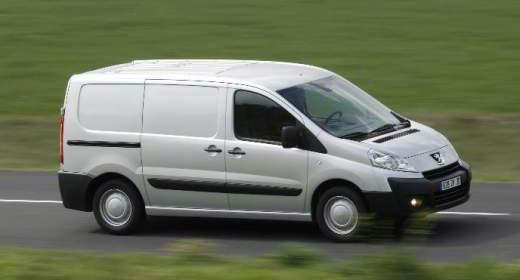 Peugeot Expert furgon bérlés