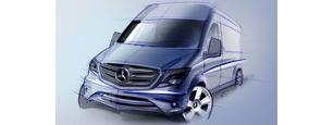 Mercedes Sprinter teherautó bérlés. Kisteherautó bérlés, furgon bérlés