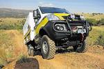 Afrikában turázik az Iveco Daily 4x4