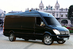 Mercedes Sprinter luxus hotelszoba
